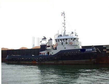 Tug Boat Bollard Pull:25 tons