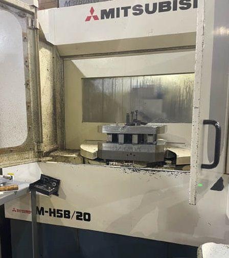 Mitsubishi MH5B/20 CNC Horiozntal Machining Center 4 Axis