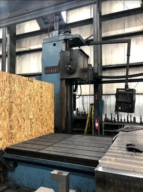 """Cincinnati Gilbert J-Series CNC Floor-Type Boring Mill 5.375"""" 1500 RPM"""