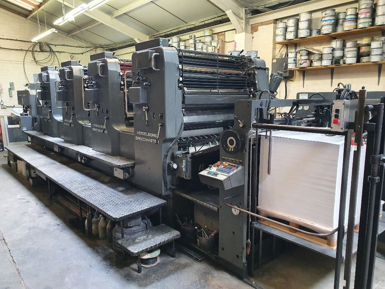 Heidelberg SM 102 VP 720 x 1020mm