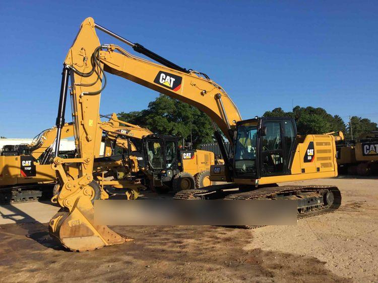 Caterpillar 323 TC Tracked Excavator