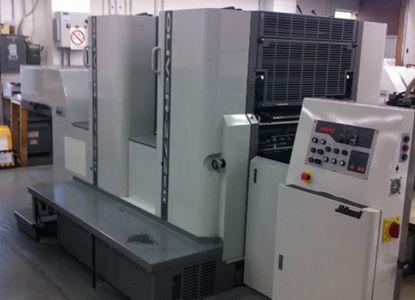 Sakurai E2. 2 Colors Offset Machine Max. 52 x 72 cm