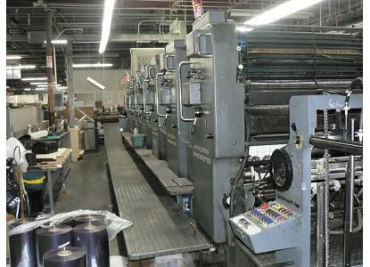 Heidelberg SM102SP, 6 Colors Offset Machine Max. 72 x 102 cm