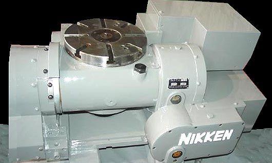 Nikken 5AX-230, CNC Rotary Table