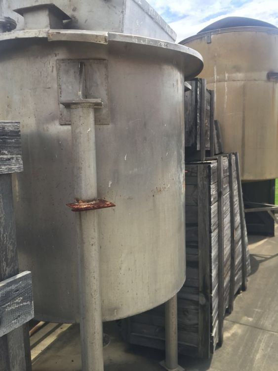Other 1,000LT Stainless Steel Mixing Tank