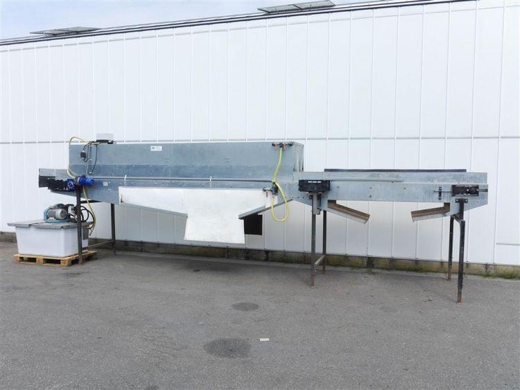 Sweere PWB1 web conveyor with washing unit