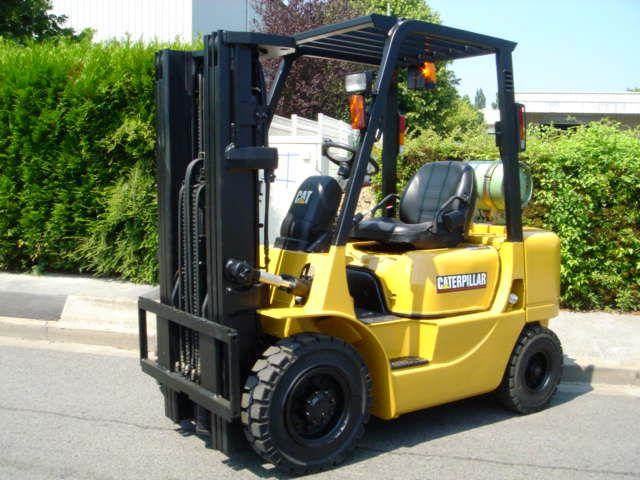 Caterpillar GP25K LP Gas Forklift 2,500 kg