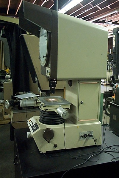Parker 434, Optical Comparator for Mounting on Machine Tool