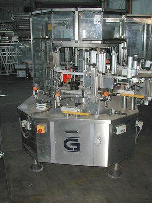 Cavagnino & Gatti C6/T8/4SF/3NPSP, Labeler for Self-Adhesive Labels