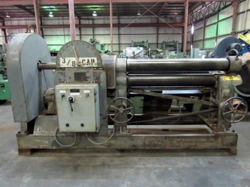Pope 2-1/2 PINCH TYPE PLATE ROLLING MACHINE