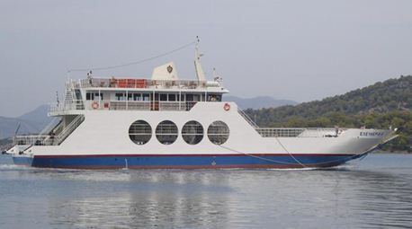 Double Ended RoRo Ferry DWT 120 T.LOA 36,80 m x 10,50 m