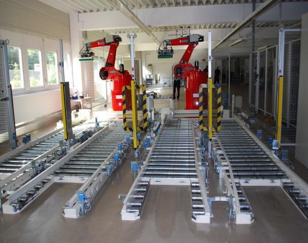 Reis RP40 Robotics Can Depalletiser