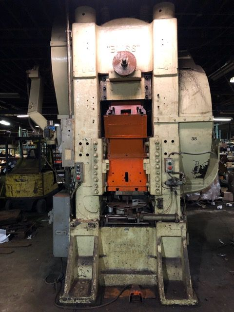 Bliss Knuckle Joint Press 800 Ton