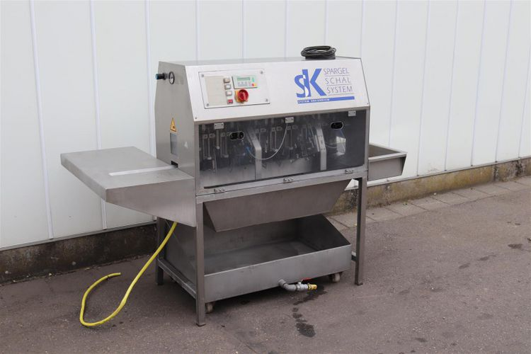 TENRIT  SP 0006 peeling machine for asparagus
