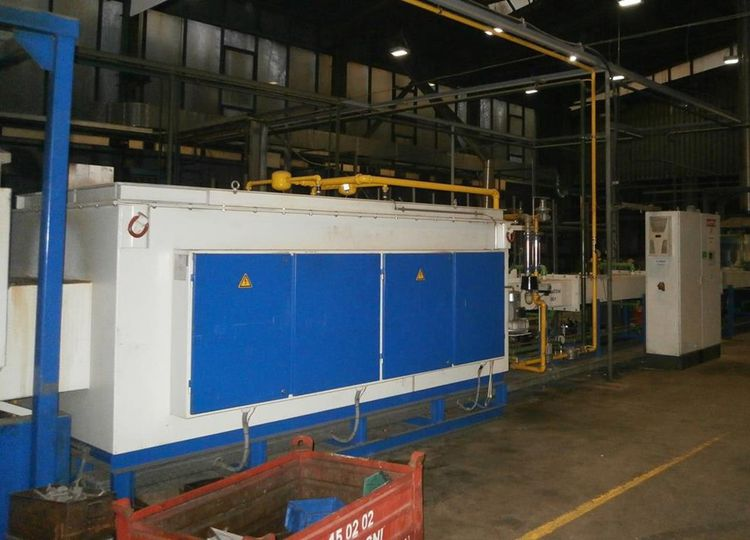 Mahler Furnace with belt conveyor DLE 650/220/3000 G