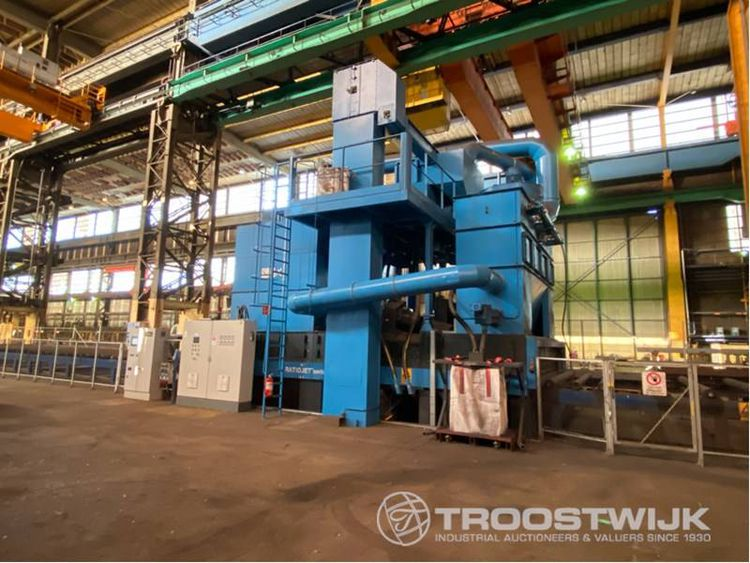 Private Treaty Sale of heavy metalworking machinery EWP Windtower Production AB