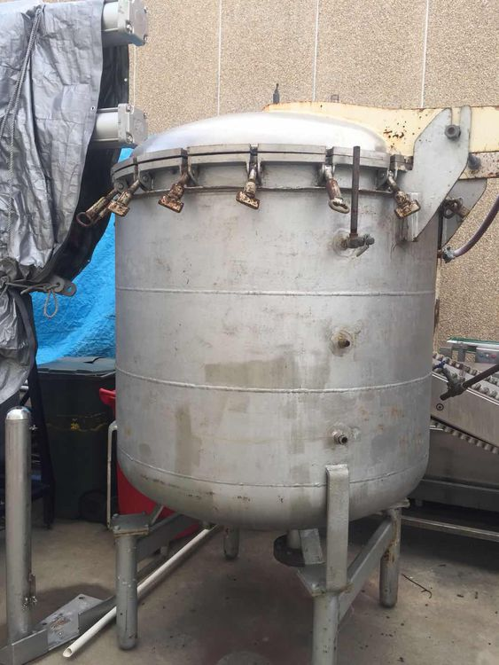 Other 1,000 L Jacketed Pressure Vessel