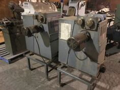 2 Schurman Dual Head Saw Guide Resurfacer
