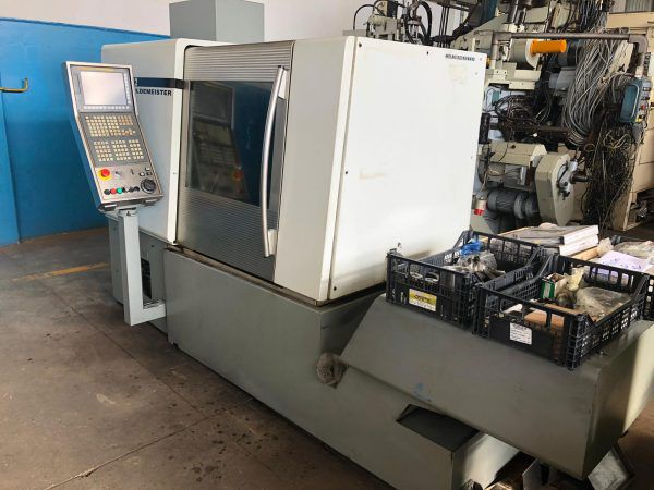 Gildemeister CNC Fanuc 310i-A 5000 rpm MSL 42-7 7 Axis