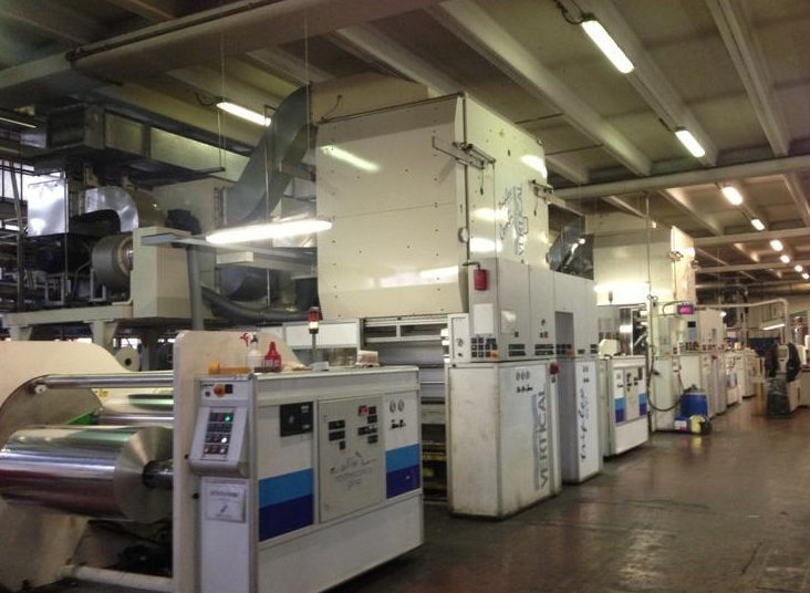 Nordmeccanica TRIPLEX COMBI Laminating Machines