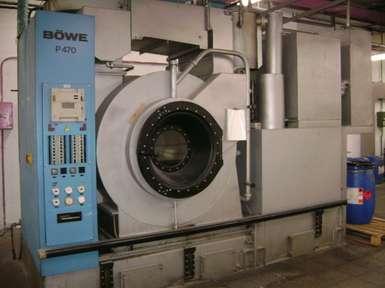 Bowe P470 Dry cleaning machines
