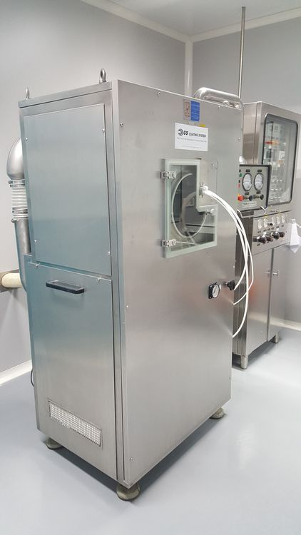 GS Multi System HT-M 25  Coating system for pilot/R&D