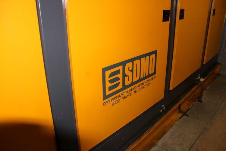 2 SDMO CMS 510 KVA S1 380 V 510 KVA
