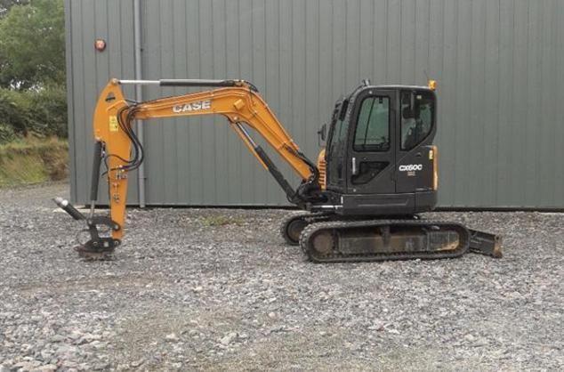 Case CX60C Excavator