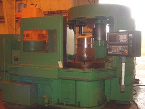 Warner & Swasey FANUC 0i-T Max. 500 rpm (Table) VTS 2 Vertical Turret Lathe