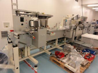 KLOCKNER CP 8 / P4/200 Blister machine with cartoner
