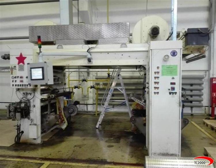Nordmeccanica SUPERSIMPLEX Laminator / coating machine Solventless
