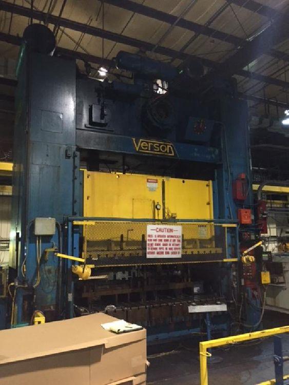 Verson S2-600-120-72T 600 Ton