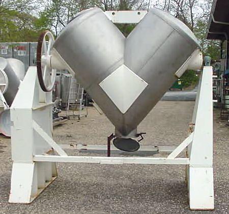 tainless Steel Twin Shell V-Blender