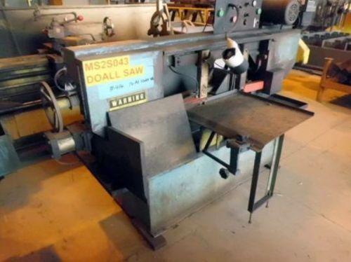 Do All C-916 Horizontal Bandsaw Semi Automatic