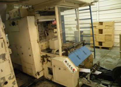 Harris M 120 19 3/8 x 30. Web Press Machine