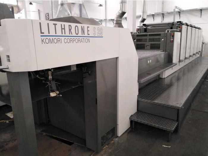 Komori Lithrone LS 629 + LX (UV) 53 x 75
