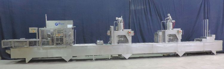 BWI, Fords, Holmatic, Trepko Ford Duckworth PR2-S Cup filling and sealing machine