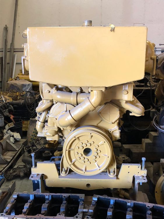 CAT 443 Marine Engine