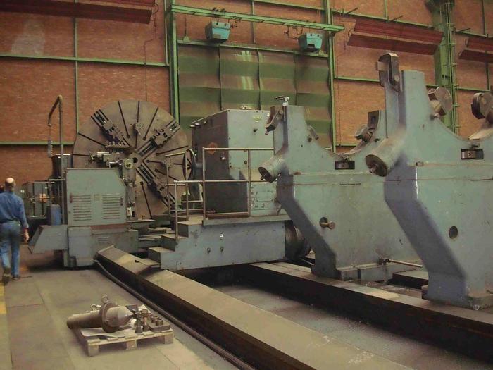 Craven Engine Lathe 48.6 Rpm. 80.5