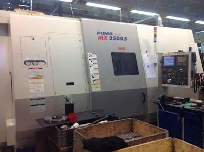 Doosan CNC Fanuc 18 iTB 3500 rpm Puma MX 2500 S 2 Axis