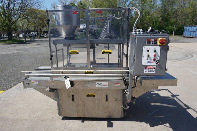 MRM Twin Head Gallon Piston Filling Machine