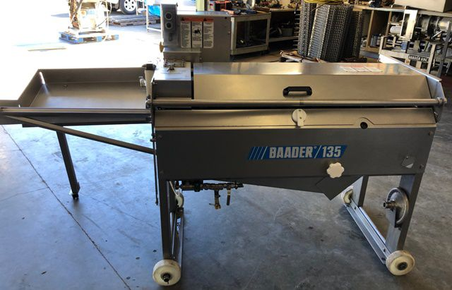 Baader 135 TROUT  DEBONING MACHINE