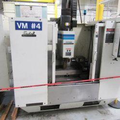 Fadal VMC-40 4-Axis Vertical Machining Center 4  Axis