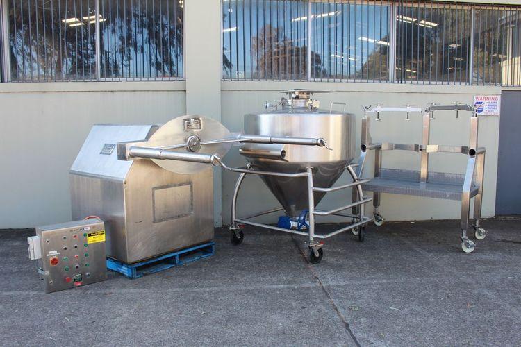 Tanner Bin Mixing System