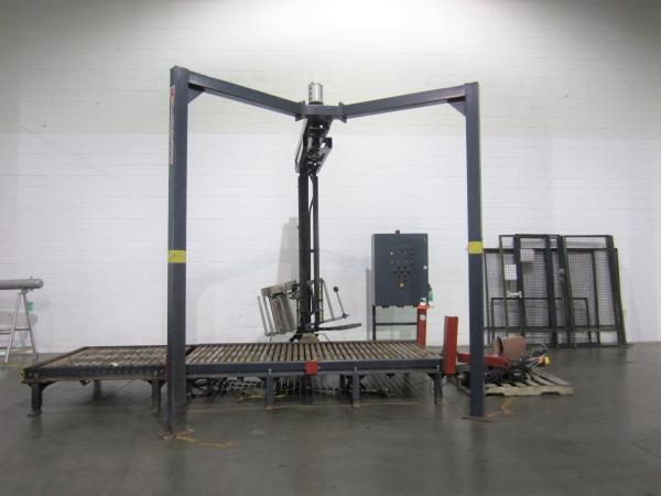 "WULFTEC WCRT-125 20"" maximum film width. 54"" maximum load height Stretch Wrapper"