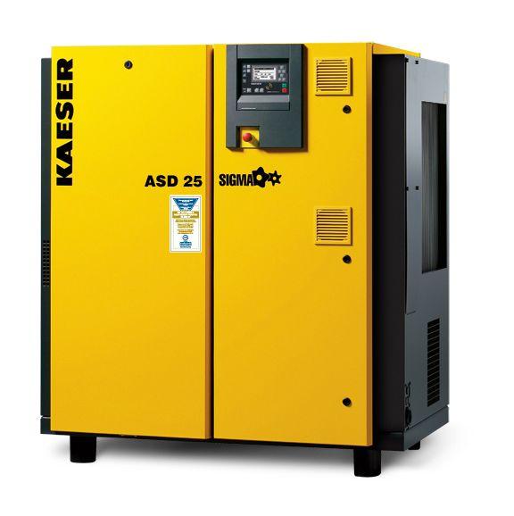 Kaeser ASD 25 112 cfm air capacity @ 125 psi