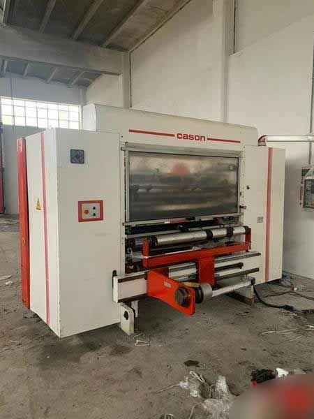 Cason INNOVA MATIC SGI, Slitter rewinding machine 1300 mm