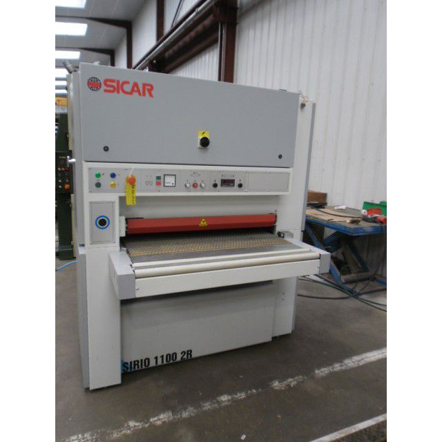 Sicar SIRIO 1100 2RR, WIDE BELT SANDER 2 BELTS