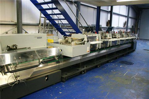 Heidelberg ST400 Saddlestitcher