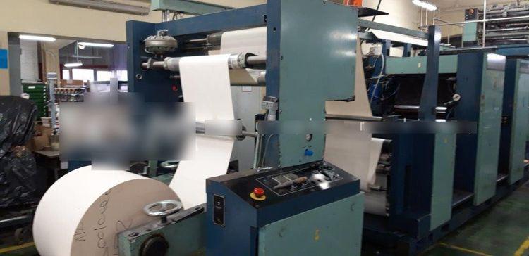 Zirkon Supra RO 660 Web offset printing machine